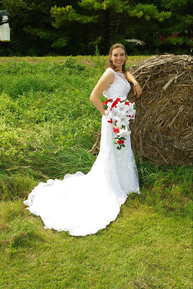 altered wedding gown - Katelyn